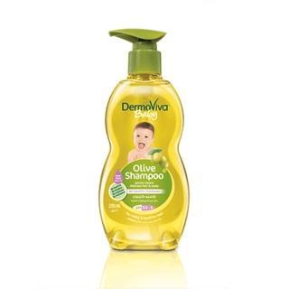 ~杜拜DERMOVIVA~嬰兒不流淚橄欖洗髮精^(200ML一入^)