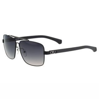【Calvin Klein】- 帥氣太陽眼鏡(黑色)