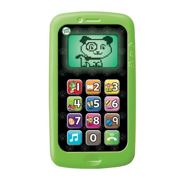 【LeapFrog】數數聰明小手機(綠)