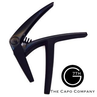 【G7TH】NV-6-BK 6弦專用 移調夾 黑色