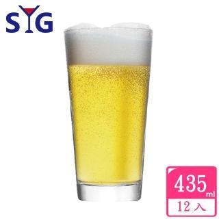 【SYG】玻璃果汁杯-435cc(12入組)