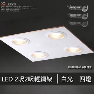 【光的魔法師 Magic Light】LED輕鋼架 2呎2呎 四燈(36W)