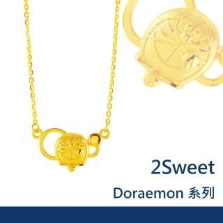 【甜蜜約定2sweet-NC-416】純金鎖骨項鍊-約重1.13錢(純金鎖骨練)