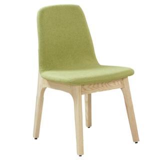 【AT HOME】葛麗絲栓木綠色布餐椅