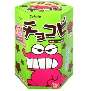 【Tohato東鳩】蠟筆小新巧克力餅-附貼紙(25g)