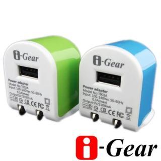 【i-Gear】AC轉USB 2.1A旅充變壓器(T002A)