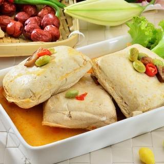 【鮮食家任選799】南門市場老林記素食齋菜 招牌清蒸臭豆腐(2入/份)