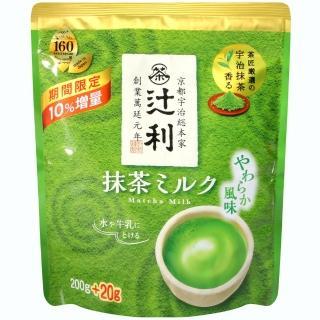 【片岡物產】什利溫和抹茶牛奶粉(200g)