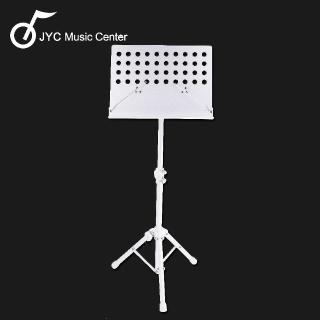 【JYC Music】台製大譜架(白)