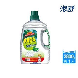 【泡舒】洗潔精 綠茶去油除腥-2800g
