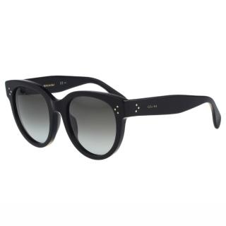 【CELINE】-時尚復古太陽眼鏡(黑色)