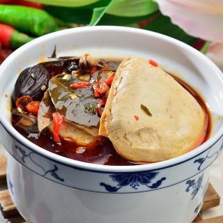【鮮食家任選799】南門市場老林記素食齋菜 招牌麻辣臭豆腐(2入/份)