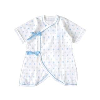 【SOULEIADO】芙蓉花蝴蝶紗布衣(水藍)