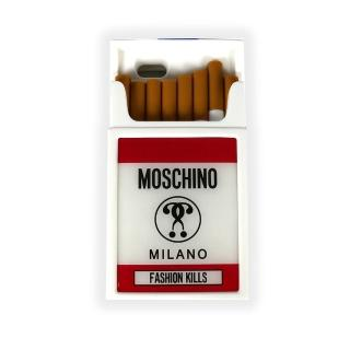 【MOSCHINO】菸盒立體造型橡膠手機殼(IPhone 6)