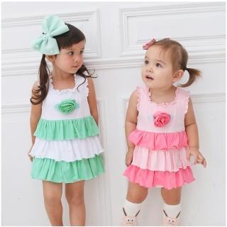 【baby童衣】女寶寶無袖蛋糕裙包屁裙 60055(共2色)