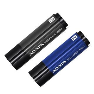 【ADATA 威剛】S102 pro 64G USB3.0(行動碟)