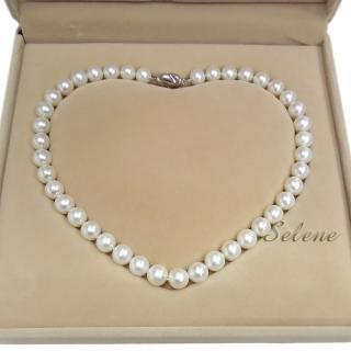 【Selene珠寶】高貴典雅淡水珍珠項鍊(10mm)