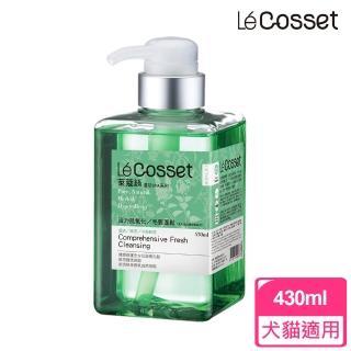 【Cosset寵時尚】活力抗氧化毛質蓬鬆- 400ml(銀杏+綠茶+小麥胚芽)