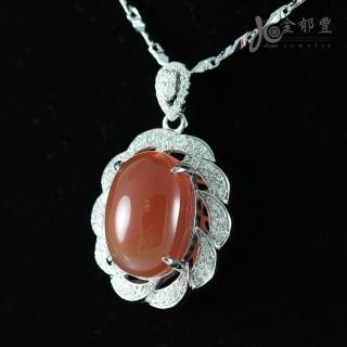【金郁豐】雅致浪漫天然南紅瑪瑙項鍊