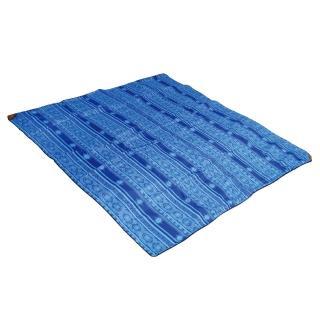【outdoorbase】加厚繽紛防水野餐墊 叢林綠/海洋藍可選(270x270cm 野餐墊 地布)