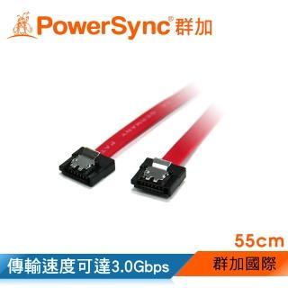 【群加 PowerSync】SATA2 傳輸線 3.0 Gbps55㎝(SATA2-55R)