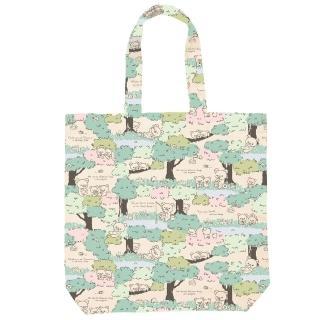 【San-X】拉拉熊蜂蜜森林小熊系列帆布手提袋