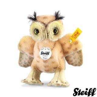 【STEIFF德國金耳釦泰迪熊】Wittie owl 貓頭鷹(動物王國)