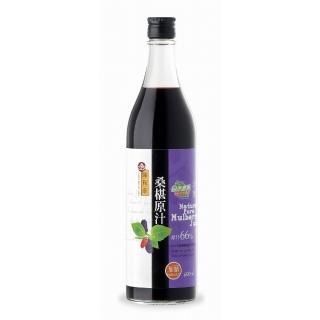 【義昌生技】陳稼莊桑椹原汁-加糖/600ml(桑椹汁)
