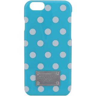 【MICHAEL KORS】白圓點iPhone6手機殼(水藍)  Michael Kors