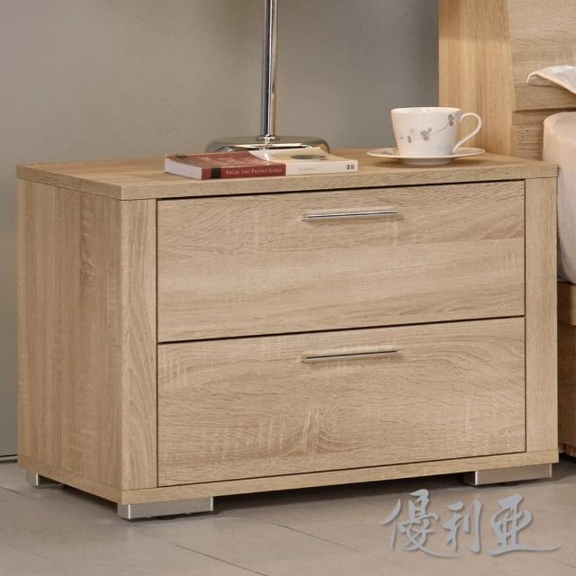 【優利亞-格瑞絲】1.9尺床頭櫃