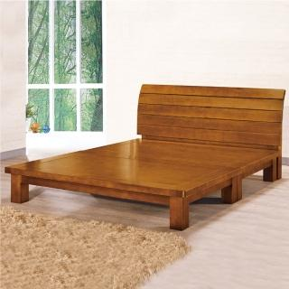 【AS】Emma 5尺標準雙人實木床架