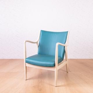 【AS】北歐全實木休閒椅