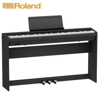 【ROLAND 樂蘭】FP-30 數位電鋼琴 時尚黑色款(附贈琴椅)