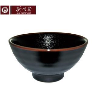 【新食器】日本製黑天目5.8吋麵碗(大碗 碗公 缽)