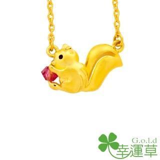 【幸運草clover gold】少年皮皮 水晶+黃金 鎖骨鍊墜