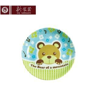 【新食器】日本製酷Q熊5吋點心平盤(小盤子)