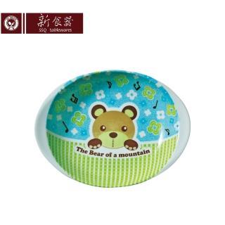 【新食器】日本製酷Q熊9.5吋雙耳橢圓盤(大盤子)