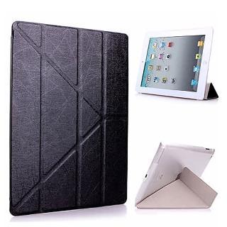 【g-IDEA】Apple iPad mini3/mini2/mini Y折式側翻皮套(黑/附保貼)