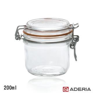 【ADERIA】扣式密封玻璃罐200ml