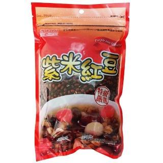 ~耆盛~紫米紅豆500g^(南北貨豆類^)