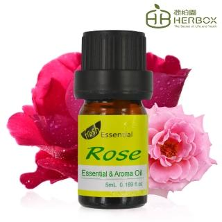 【Herbox 荷柏園】玫瑰複方精華 5ml(Rose)