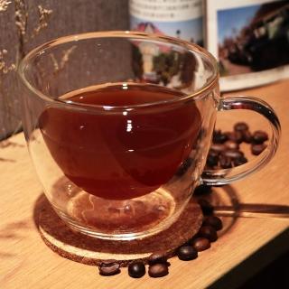 【Artist精選】耐熱玻璃卡布奇諾/摩卡/拿鐵雙層咖啡杯300ml