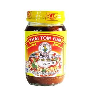 【蘋果市集】泰國仙女牌泰式酸辣湯醬-純素食(227g/瓶)