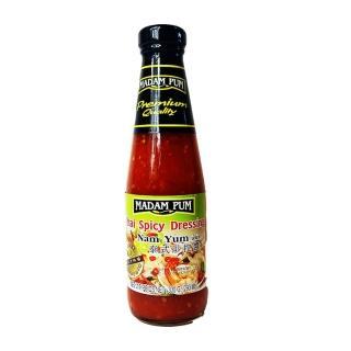 【蘋果市集】泰國MADAM PUM泰式萬用涼拌醬/涼拌青木瓜醬(310g/瓶)