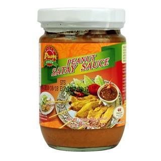 【蘋果市集】泰國MADAM PUM沙嗲醬/泰式烤肉醬(227g/瓶)