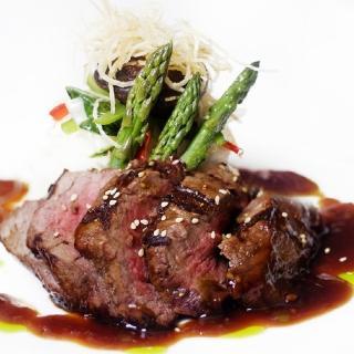 【鮮食家任選799】輝帛肉品 澳洲安格斯黑牛雪花牛排(150g/片)