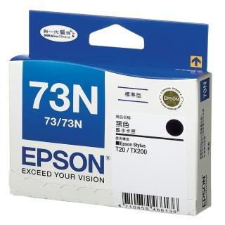 【EPSON】73N 原廠黑色墨水匣(T105150)