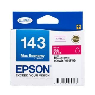 【EPSON】NO.143 原廠紅色墨水匣(T143350)