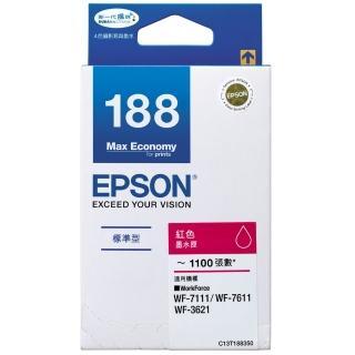 【EPSON】NO.188 原廠紅色墨水匣(T188350)