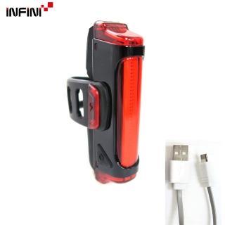 【INFINI】SWORD I-461R1 30紅光LED警示燈5模式後燈(黑色)